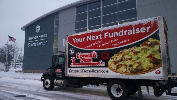 Fundraising Truck Advertisement